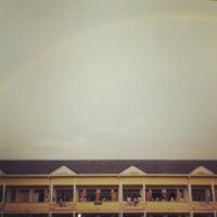 Photo taken at SMK Bandar Puchong Jaya (A) by Vivien S. on 4/25/2013