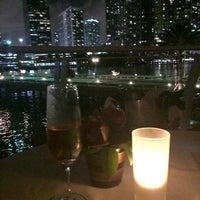 Photo taken at Azul at Mandarin Oriental, Miami by @mendozabolívar on 3/27/2015