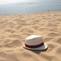 Photo taken at Dune du Pyla by Damien R. on 7/21/2013