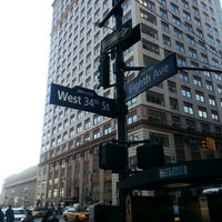 Photo taken at 34th & 8th by Rob C. on 3/3/2013