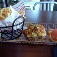 Photo taken at Smashburger by Jane G. on 12/12/2012