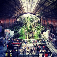 Photo taken at Estación de Madrid-Puerta de Atocha by RodrY R. on 4/21/2013