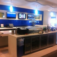 Photo taken at Delta Sky Club by Amol K. on 1/23/2013
