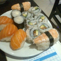 Photo taken at Miki Sushi by Camélia A. on 9/27/2012