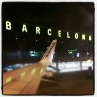 Photo taken at Barcelona–El Prat Airport (BCN) by Josué C. on 12/9/2012