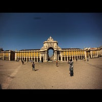 Photo taken at Praça do Comércio (Terreiro do Paço) by Murilo V. on 9/25/2012