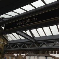 Photo taken at Faversham Railway Station (FAV) by nico on 2/26/2013