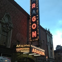 Photo taken at Aragon Ballroom by Stephanie I. on 3/17/2013
