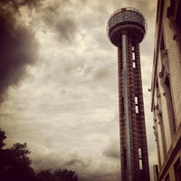Photo taken at Reunion Tower by Cecil D. on 5/25/2013
