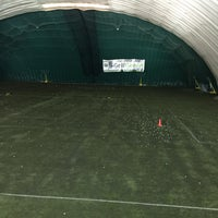 Photo taken at Robert Morris University Island Sports Center - Golf Dome by Robbie H. on 2/21/2015