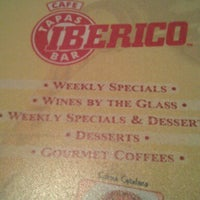 Photo taken at Cafe Iberico by Laura A. on 1/21/2013