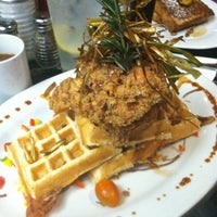 Photo taken at Hash House A Go Go at The LINQ by Petrie H. on 12/9/2012