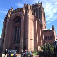 Photo taken at Liverpool Cathedral by styler c. on 6/13/2013