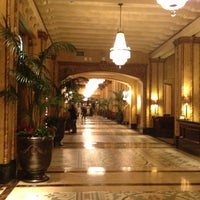 Photo taken at The Roosevelt New Orleans by Tracy S. on 3/3/2013