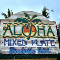 Photo taken at Aloha Mixed Plate by diane q. on 4/29/2013