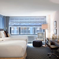 Photo taken at Fifty NYC, an Affinia Hotel by HotelPORT on 8/5/2013