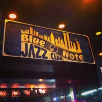 Photo taken at Blue Note by Lucas S. on 3/16/2013