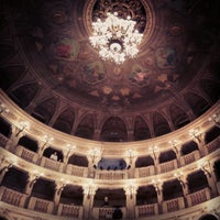 Photo taken at Teatro Comunale by Simone B. on 10/16/2012