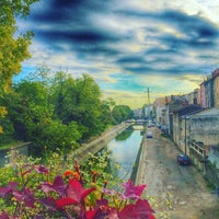 Photo taken at Pont d'Oullins by Stéphanie on 10/3/2015
