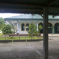 Photo taken at Masjid Ar-Rahmah Sweta by Erlangga P. on 12/7/2012