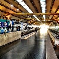 Photo taken at Fiumicino Aeroporto railway station (ZRR) by Tomoharu A. on 1/6/2013