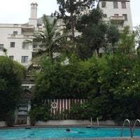 Photo taken at Chateau Marmont Pool by Anthony R. on 6/26/2014