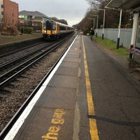 Photo taken at Walton-on-Thames Railway Station (WAL) by Phil L. on 4/12/2013