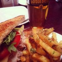 Photo taken at Gordon Biersch Brewery Restaurant by Karla D. on 9/29/2012