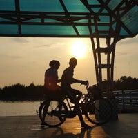 Photo taken at Jembatan Cinta by Fetty I. on 9/8/2016