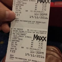 Photo taken at Golden Screen Cinemas (GSC) by Hasnaa Z. on 11/19/2016