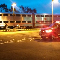 Photo taken at South San Francisco Caltrain Station by Dave G. on 4/7/2013