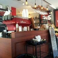 Photo taken at La Stazione Coffee & Wine Bar by Vincent H. on 10/27/2012