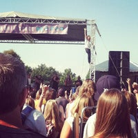 Photo taken at Freedom Hill Amphitheatre by Sahithi A. on 8/17/2013