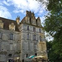 Photo taken at Château de Lanquais by Andrew C. on 8/18/2015