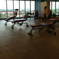 Photo taken at Jurong West ActiveSg Gym by gail_A on 7/26/2013
