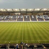 Photo taken at Children's Mercy Park by Kevin on 7/4/2013
