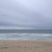 Photo taken at Karge Street Beach by Chris on 10/13/2014
