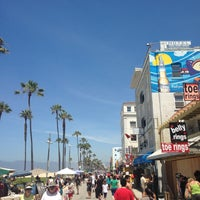 Photo taken at Venice Beach Pier by Matias F. on 7/16/2013