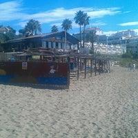 Photo taken at Playa Luna Beach by @PetteLov w. on 10/12/2012
