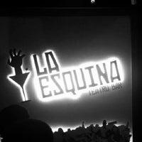 Photo taken at La Esquina Teatro Bar by Gustavo B. on 10/6/2012