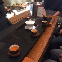 Photo taken at Red Blossom Tea Company by Alice C. on 1/17/2016