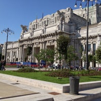 Photo taken at Stazione Milano Centrale by Giuseppe Claudio C. on 5/11/2013