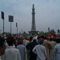 Photo taken at Minar-e-Pakistan by Zohaib B. on 3/23/2013