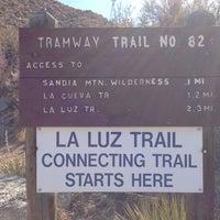 Photo taken at La Luz Trailhead by Wesly C. on 3/18/2013