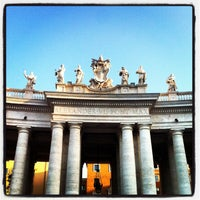 Photo taken at Saint Peter's Square by Dimitri V. on 5/2/2013
