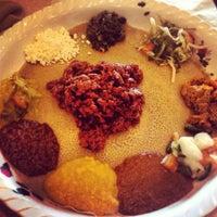 Photo taken at Meaza Restaurant & Market by Mariana P. on 8/10/2013