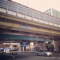 Photo taken at Nishinakajima-Minamigata Station (M14) by KEISUKE K. on 6/21/2013
