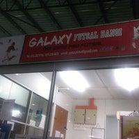 Photo taken at Galaxy Futsal Bangi by Zicril H. on 4/2/2013