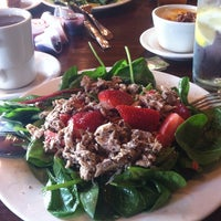 Photo taken at la Madeleine Country French Café by Ivy M. on 5/20/2013