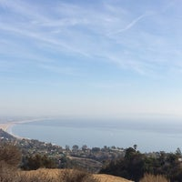 Photo taken at East Topanga Fire Road Trailhead by Phil B. on 1/11/2014
